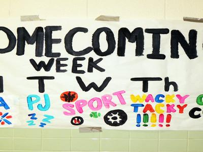 Homecoming Week Banner